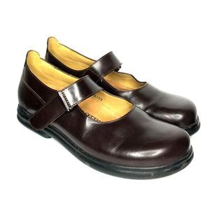 Birkenstock footprints Annapolis Mary Janes brown